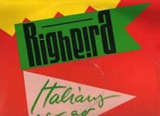 "RIGHEIRA disco MIX 12"" 45 giri MADE in ITALY Italians a go go STAMPA ITALIANA"