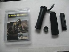 Handy Throttle Convert Thumb Throttle To Twist Throttle ATV Yamaha Polaris 7/8""