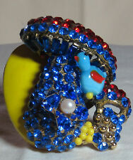 Wendy Gell Magic Mushroom Ring Big Bold Pop Art Showstopper