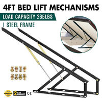 """48"""" 4ft Bed Lift Mechanisms Bed Box Storage Hydraulic Space Saving hardware"""