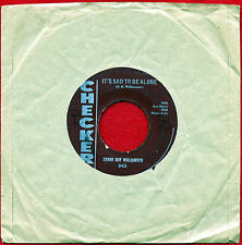 """SONNY BOY WILLIAMSON """"It's Sad To Be Alone/The Goat"""" Checker 45 943 VG+ Blues"""