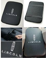 UNIVERSAL LINCOLN Carbon Fiber Car Center Console Armrest Cushion Mat Pad Cover