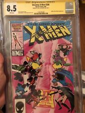 The Uncanny X-Men #208 (Aug 1986, Marvel) Cgc 8.5 Signed By Chris Claremont!