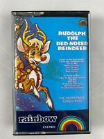 Rudolph The Red Nose Reindeer Cassette Tape RARE