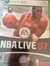 Xbox 360 NBA Live 07 Brand New Sealed
