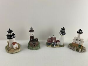 4 - Vintage Lighthouses by Scaasis Originals 1993 - MA & NY Lighthouse Replicas