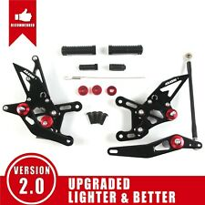 Fits Yamaha YZF R1 2009 - 2014 2010 YZF-R1 New Racing Rearset Footrests Footpegs