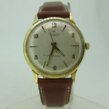 Vintage Hamilton Masterpiece Thin-O-Matic 14k Solid Gold Watch