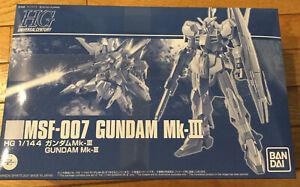 NEW! [Premium Bandai] HGUC 1/144 MSF-007 Gundam Mk-III Limited HG