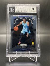 2019-20 PANINI PRIZM JA MORANT ROOKIE CARD BGS 9 MINT ROY RED HOT
