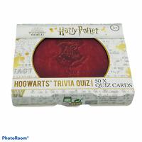 Harry Potter Hogwart Trivia Quiz Cards