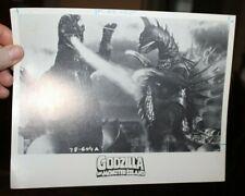 Godzilla on Monster Island Movie Still Card 1978 B&W Horror Flick #142
