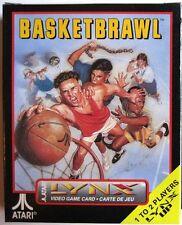 BasketBrawl Basketball Atari Lynx ( NEW Factory Sealed)