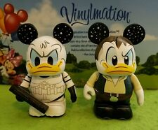 "DISNEY Vinylmation 3"" Park Set 1 Star Wars Lot Donald Duck Han Solo Stormtrooper"