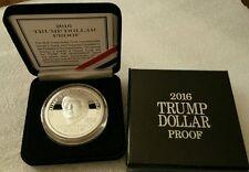 President Donald Trump 1 oz .999 silver dollar proof Make America Great Again
