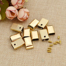 10 Pcs New Luggage Hardware Accessories Button End Tips Zipper