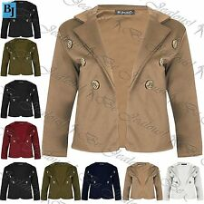 Unbranded Button Coats & Jackets for Women Blazer