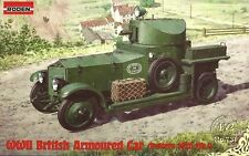 WWII British Armoured Car (Pattern 1920 Mk.I) << Roden #731, 1:72 scale