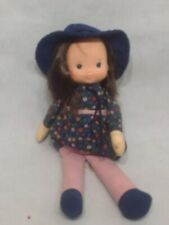 Fisher Price 1978 Soft Body Doll With Hat & Skirt W3
