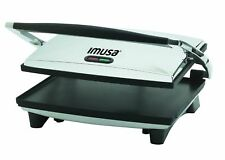 Panini Grill Press Commercial Electric Grilled Sandwich Toaster Maker Griddle
