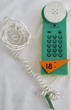 Unisonic Green Telephone Golf Flag18th Hole Land Line Works Phone Vintage