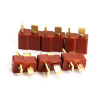 20pcs Ultra T- Plug Male Female Connectors Deans Style For RC LiPo Battery New