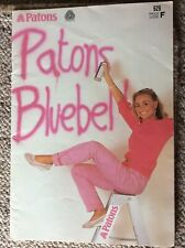 Vintage Patons Knitting Pattern Book 629 Patons Bluebell Ladies' Designs