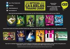 2015/16 Tap N Play CA & BBL Cricket Sealed Case (14 Boxes) Trading Cards