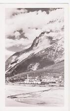 Rppc,Field,British Columbia,Canada,View of Town & Kicking Horse River,c.1940-50s