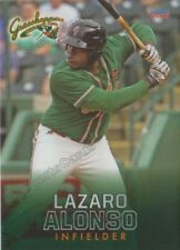 2018 Greensboro Grasshoppers Lazaro Alonso RC Rookie Miami Marlins CUBA