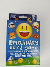 1 x Emojinary Card Game - Brand New & Sealed contents Emojis Family Ages 10+