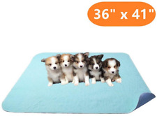 """BEST Machine Washable Pet Dog Pee Pads 36""""x41"""" for Puppy Whelping Potty Training"""