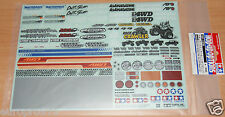 Tamiya 54630 Sponsor Autocollant Set (for Off-road voiture) (high-Lift/Brusier/Crawler)