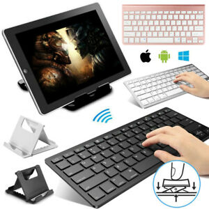 """Bluetooth Keyboard & Stand Holder For Apple iPad 8th Generation 10.2"""" inch 2020"""