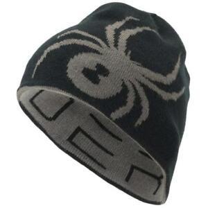 Spyder Reversible Innsbruck Hat~black/gray