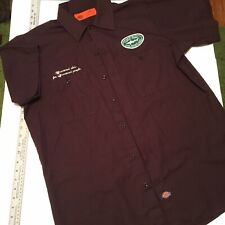Dogfish Head Craft Brewing Beer Brown Dickies Work Shirt Large L Micro