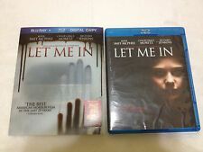 Let Me In (Blu-ray, 2011) OOP! LIMITED EDITION + RARE SLIPCOVER+COMIC BOOK!