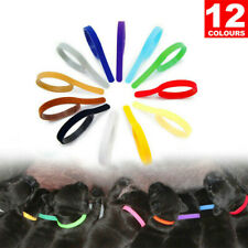 12pcs Adjustable Pet Whelping Id Collars Band for Puppies Kittens Small Animals