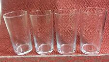 Set of 4 Drinking Glass Clear Glasses Cup Elegant Wine Tea Bar Drink NEW