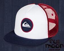 New Quiksilver Mens Snapstearn Trucker Snapback Cap Hat