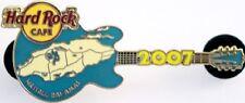 Hard Rock Cafe NASSAU BAHAMAS 2007 Islands MAP GUITAR PIN - LE 750 - HRC #41761
