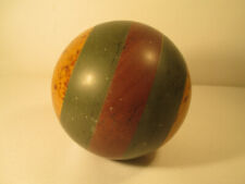 Antike Boule Petanque Boccia Kugelspiel Kugel aus Bakelit Marble