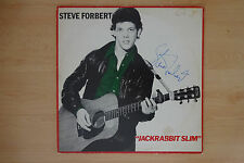 "Steve Forbert Autogramm signed LP-Cover ""Jackrabbet Slim"" Vinyl"