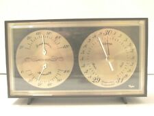 Vintage Taylor Instrument Barometer Weather Temperature Humidity Rain Desk Top