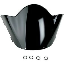 Kimpex - 06-648-11 - Polycarbonate Windshield, Low - 10in. - Black Yamaha V-Max
