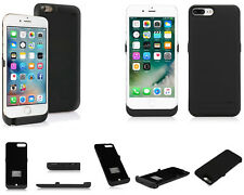 Custodia + batteria riserva iPhone 6,7,8. Nero nera,ricaricabile,cover 5800 mAh