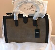 225f58e55bd2 Lauren Ralph Lauren Brigitte Tote  Handbag Olive   Black (BNWT)