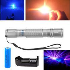 900miles Laser Pointer Pen Blue Purple Light Visible Beam Lazerbattcharger