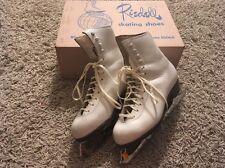 Vintage Riedell Gold Star 75W Skating Shoes, Sz 3.5 W/ Original Box