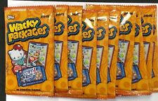 2015 TOPPS WACKY PACKAGES 10 unopened packs Lot + 1 FREE!!!